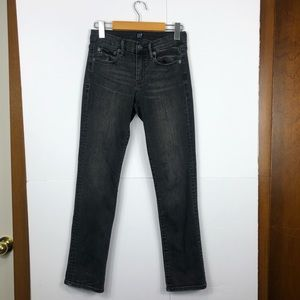 Gap Mid Rise Classic Straight Jeans Sz 26P